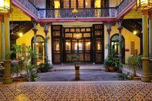 Cheong Fatt Tze Mansion courtyard, George Town, Penang