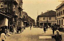 Beach Street, George Town, Penang (1930s)