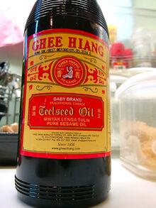 Ghee Hiang sesame oil