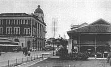 Downing Street, George Town, Penang (1910s)