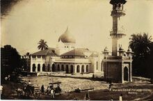 Kapitan Keling Mosque, George Town, Penang (1930s)