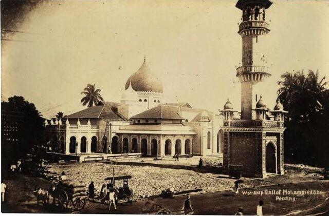File:Kapitan Keling Mosque, George Town, Penang (1930s).JPG