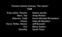 Gimmie Gimmie Gimmie- The Game Voice Cast