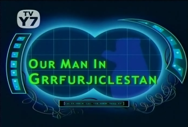 Our Man in Grrfuljicklestan Title