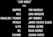 Love Hurts-Cast