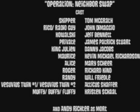 Operation Neighbor Swap-cast