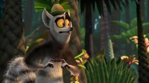 Really hungry. (All hail King Julien)-(HD)
