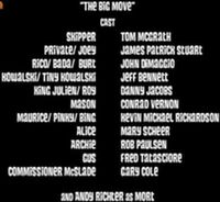 The big move cast