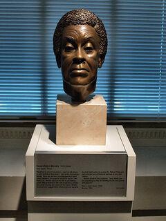 Sara S. Miller's 1994 Bronze Portrait Bust Of Gwendolyn Brooks