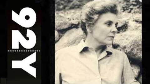 Elizabeth Bishop Selected Poems 92Y Readings