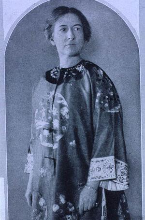 Harriet Monroe 1920