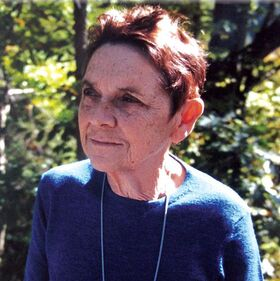 Adrienne Rich, Trumansburg, New York, October 2001