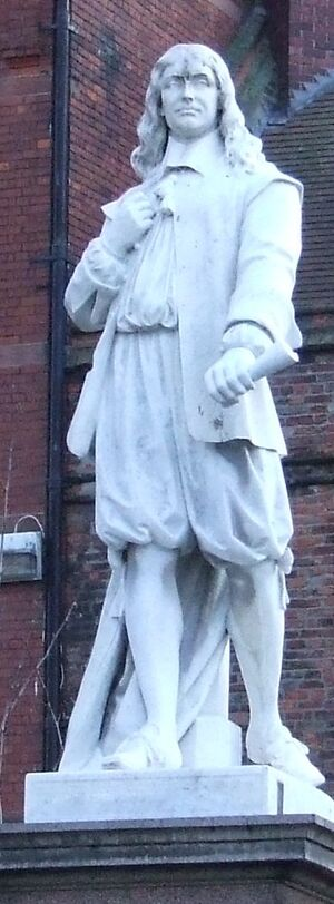 Andrew marvell statue
