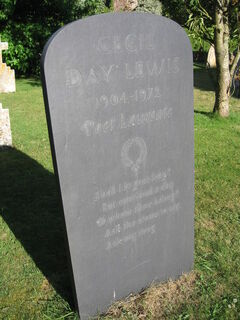 Cecil Day Lewis headstone, geograph