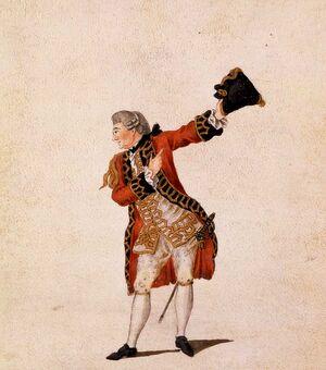 Garrick as Benedick