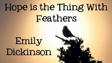 Emily Dickinson Hope is the Thing with Feathers - Poems for Kids, FreeSchool