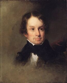 491px-Brooklyn Museum - Henry Wadsworth Longfellow - Charles Loring Elliott - overall