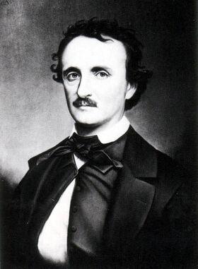 Edgar Allan Poe portrait B
