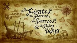 The priates,the parrot,the puzzles and the talkign boats