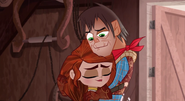 Cute Mother-Daughter Relationship Hug