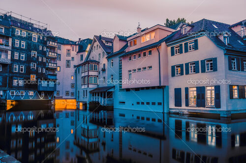 Houses on Ross Neckar Canal