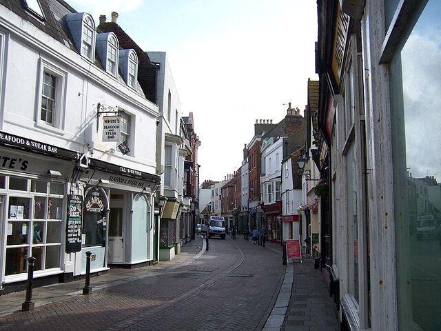 File:George Street in Hastings.JPG