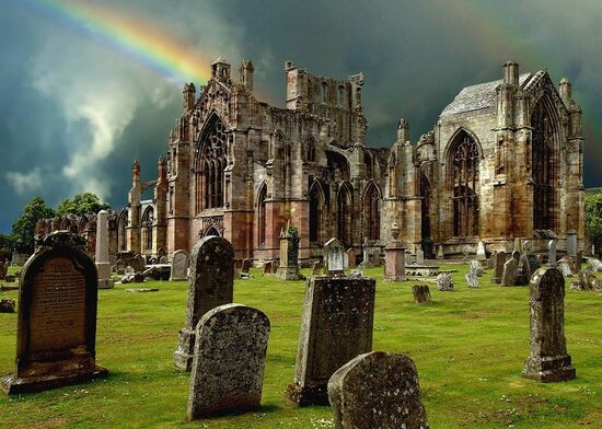 Melrose-abbey-by-wolfgang-berger