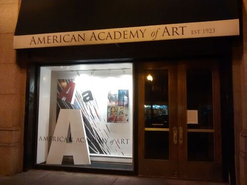 American Academy of Art entrance