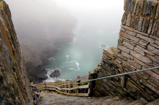 Gorgeous stair to the sea