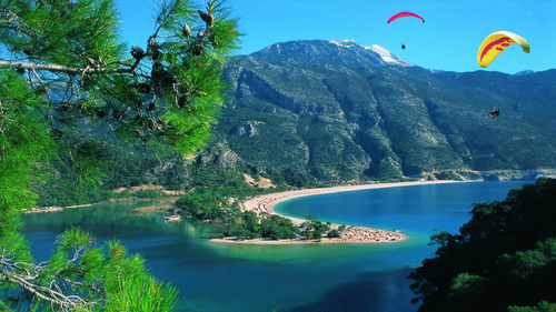 World Turkey Winter holidays in Fethiye Turkey 061094