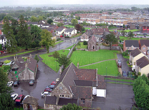 Town of Yate from St. Mary's Tower