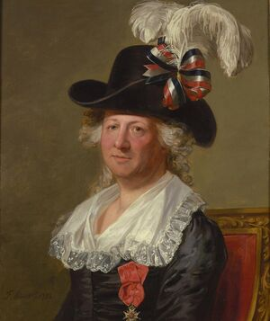 Chevalier d'Eon by Thomas Stewart, 1792