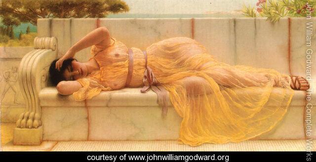 File:Girl in Yellow Drapery.jpg