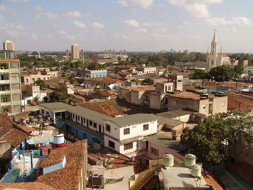 Lovely Camaguey rooftops