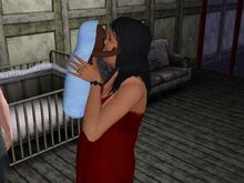 Bella Goth And Baby-0