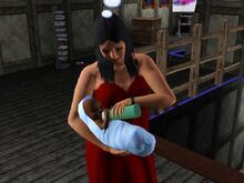 Bella Goth And Baby-3