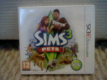 3DS The Sims 3 Pets