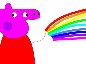 Peppa Rainbow