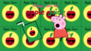 Peppa and the Apple Juice Poster