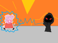Electrified peppa vs evil disguised heinrich
