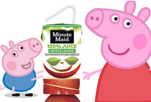 Peppa and the apple juice 2