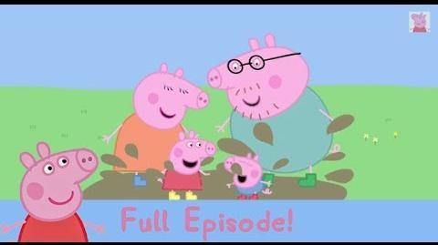 Peppa Pig-Peppa Pig Season 1 Episode 1 Muddy Puddles -FULL HD-