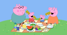 Getting started on their picnic