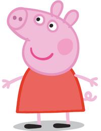 Animated character Peppa Pig