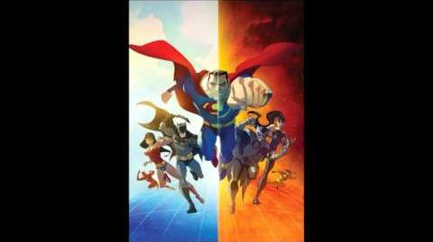 Justice League Crisis on Two Earths Main theme