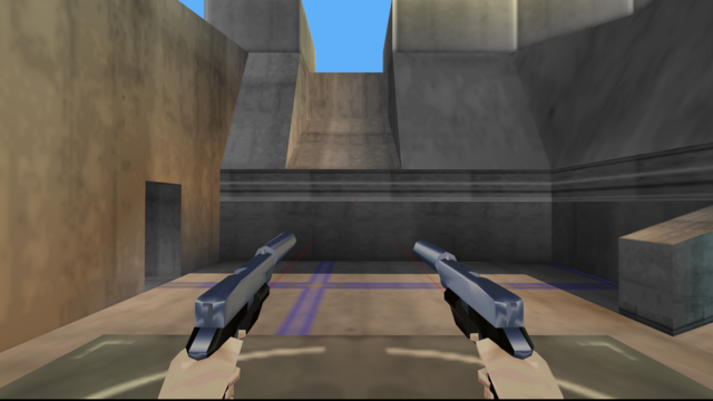File:Perfect Dark Weapons - Falcon 2 (Silencer) (6).png