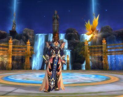 Eclipse Male Earthguard Mystic Royal