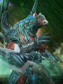 Cenequus Polearm War Avatar