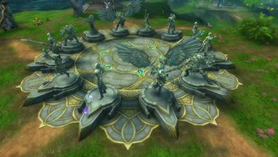 Heroes Terrace statues1