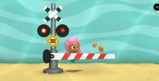 File:Bubble Guppies Triple Track Train Race Railroad Crossing Signal 1 02.png